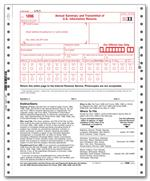 Item 91626, Item TF1096-2, 1096 Transmittal, Continuous, 2-part
